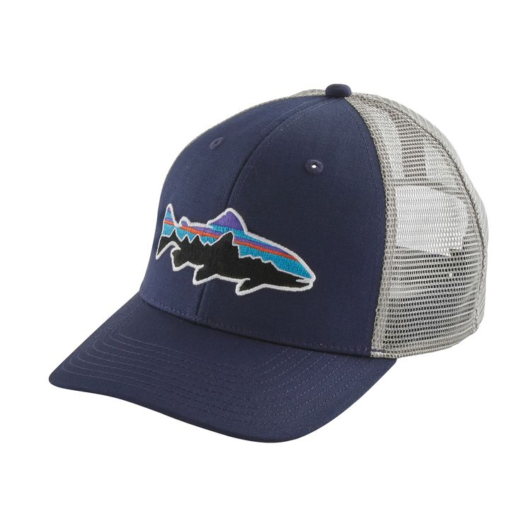 Patagonia Fitz Roy Trout Trucker Hat Classic Navy - Monkshop