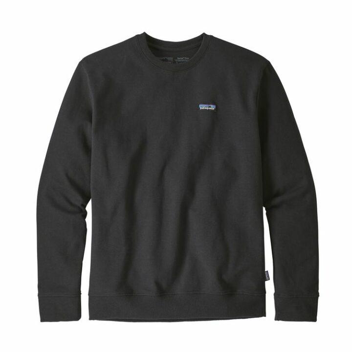 Patagonia P-6 Label Uprisal Crew Sweatshirt Black - monkshop