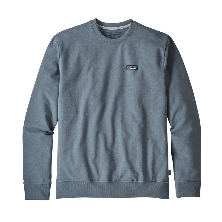 Patagonia P-6 Label Uprisal Crew Sweatshirt Shadow Blue - monkshop