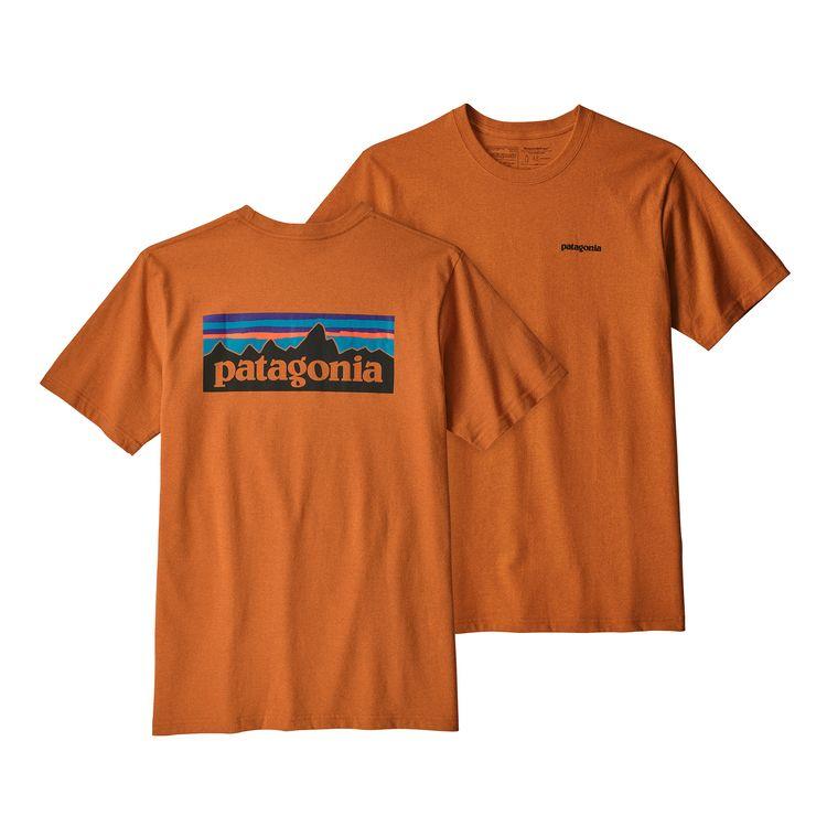 Patagonia P-6 Logo Responsibili-Tee Marigold - monkshop