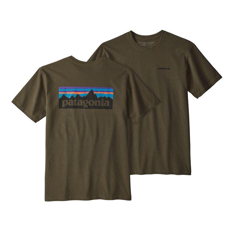 Patagonia P-6 Logo Responsibili-Tee Sediment - monkshop
