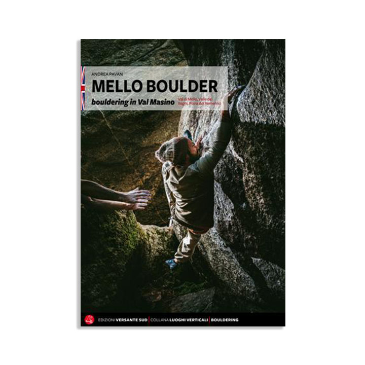 Val Di Mello Boulder Topo 2018 - monkshop