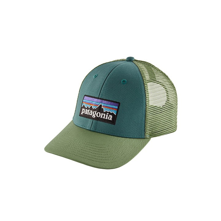 Patagonia P-6 Logo LoPro Trucker Pet Tasmanian Teal - Monkshop