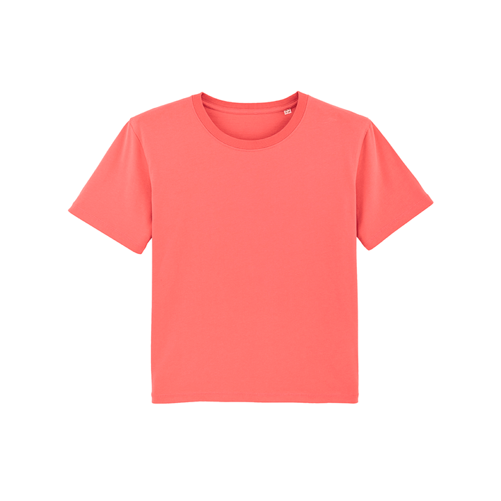 Monk Logo Dames T-shirt Coral Wave - Monkshop