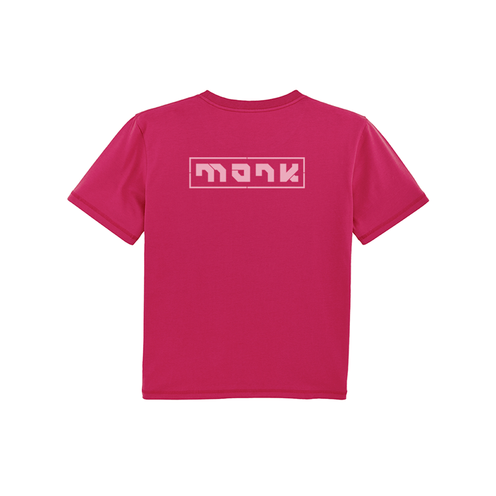Monk Logo Dames T-shirt Christal Stone - Monkshop