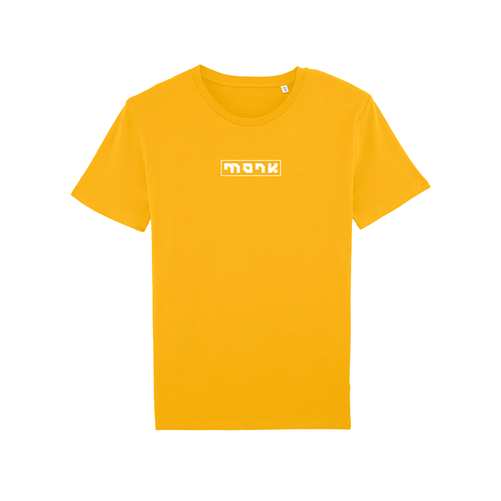 Monk Logo T-Shirt Spectra Yellow - Monkshop