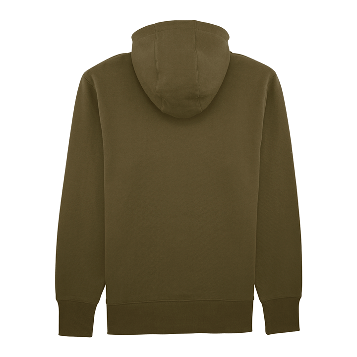 Monk Logo Unisex Hoody British Khaki - Monkshop