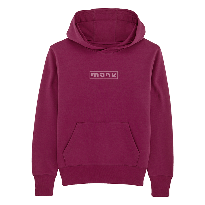 Monk Logo Unisex Hoody Purple Led - Monkshop