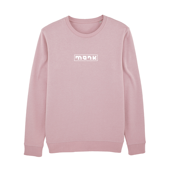 Monk Logo Unisex Trui Relaxed Fit Lilac Peak - Monkshop