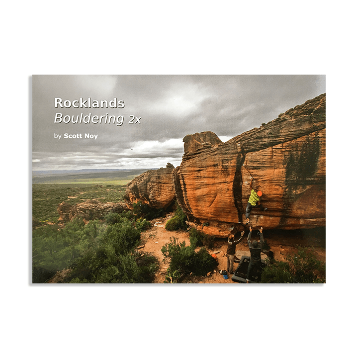 Rocklands Bouldering 2x (2018) Bouldertopo - Monkshop