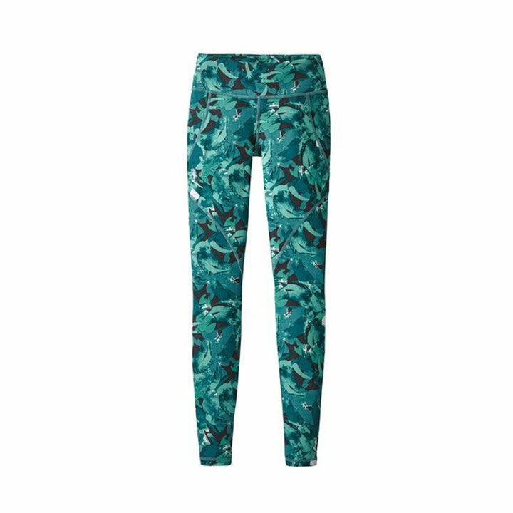 Patagonia Centered Legging Dames Abstract Jungle - Monkshop