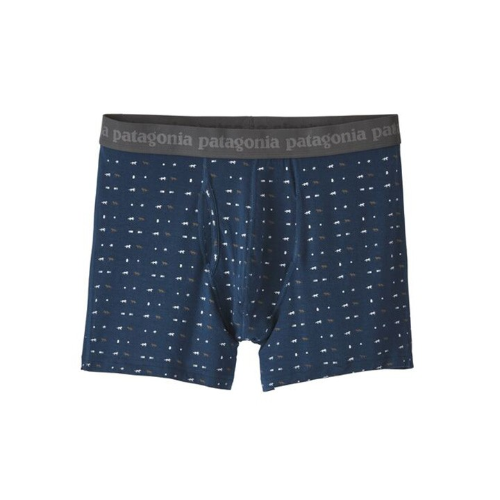 Patagonia Essential Boxershort 3inch Tiger Micro - Monkshop