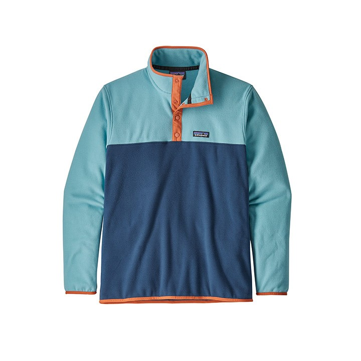 Patagonia Micro D Snap-T Pullover Heren Stone Blue - Monkshop