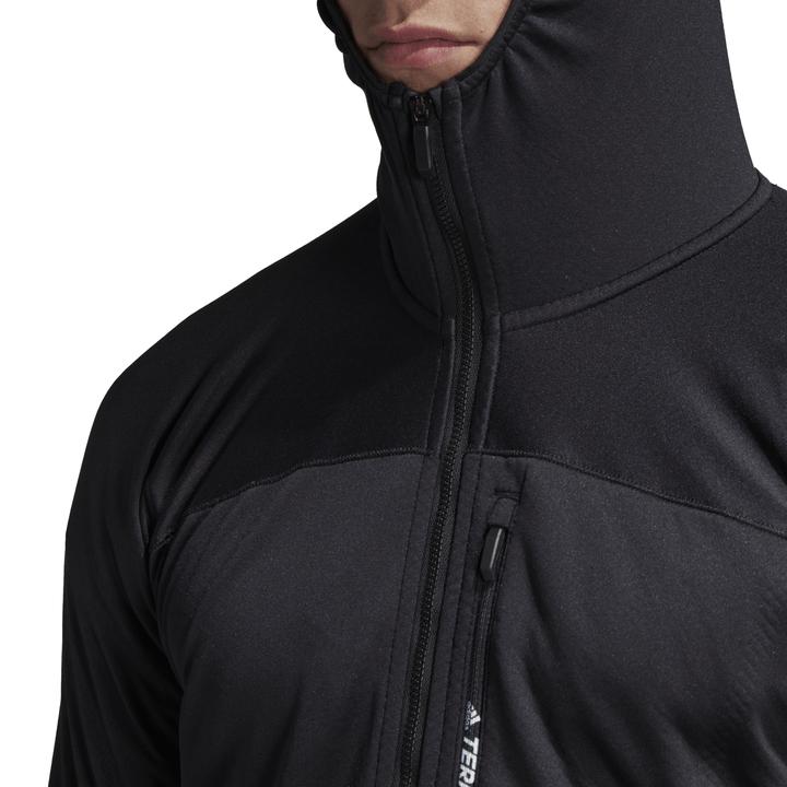 Adidas Terrex Tracerocker Fleece Capuchonjack Heren - Monkshop