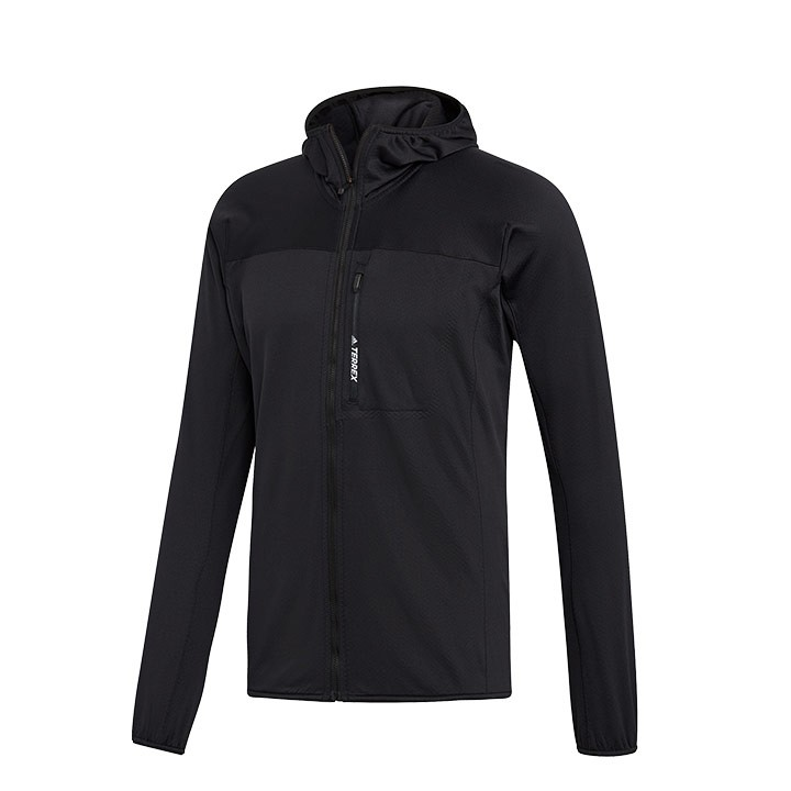 Adidas Terrex Tracerocker Fleece Capuchonjack Heren - Monkshop