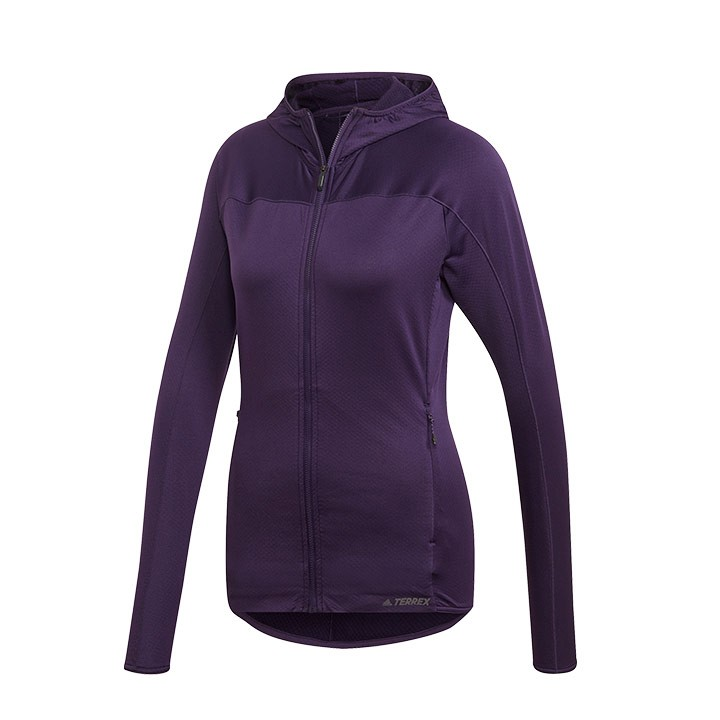 Adidas Terrex Tracerocker Fleece Capuchonjack Dames - Monkshop