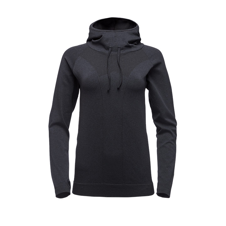 Black Diamond Crux Dames Hoody Carbon - Monkshop
