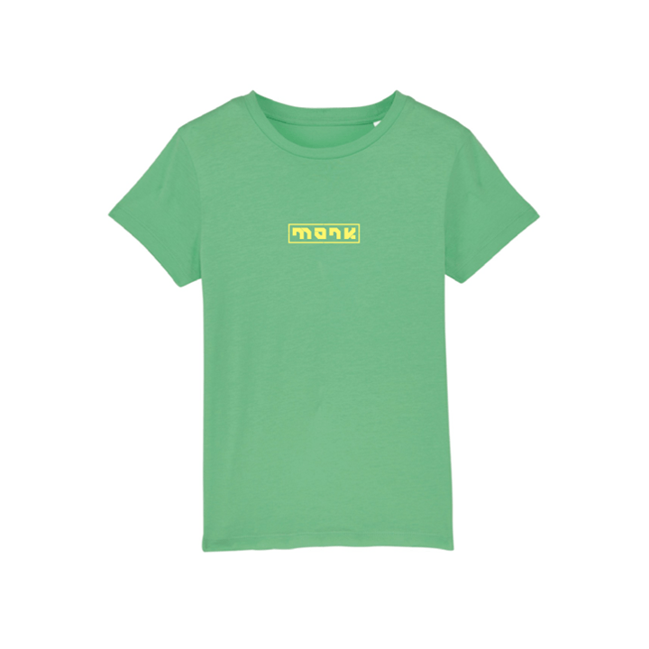 Monk Logo Kinder T-shirt Chameleon Green - Monkshop