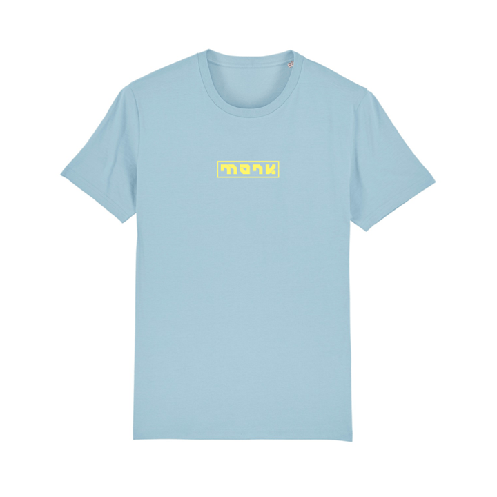 Monk Logo Unisex T-Shirt Sky Blue - Monkshop