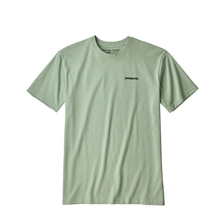 Patagonia P-6 Logo Responsibili-Tee T-Shirt Light Distilled Green - Monkshop