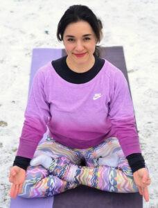 Yogalessen Irina Monk bouldergym Eindhoven