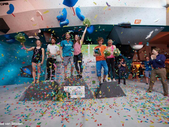 Monk levert NK Boulder kampioenen 2019