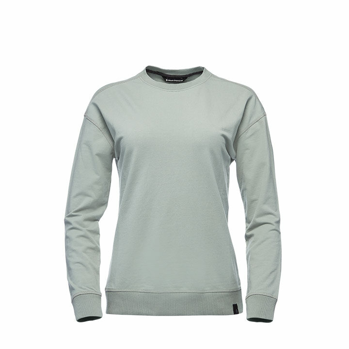 Black Diamond Basis Dames Crew Trui Atmosphere - Monkshop