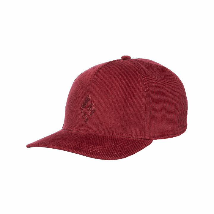 Black Diamond Cord Cap Wine - Monkshop