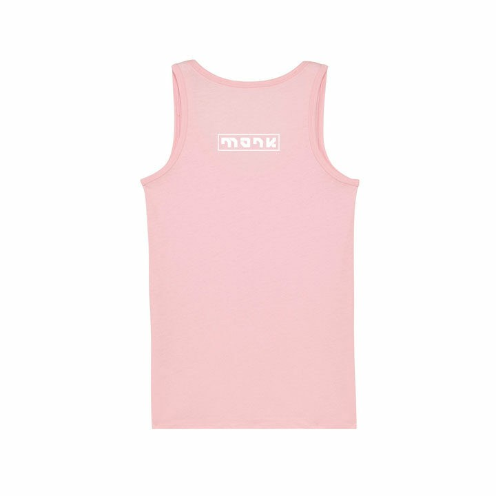 Monk Logo Dames Hemd Cotton Pink - Monkshop