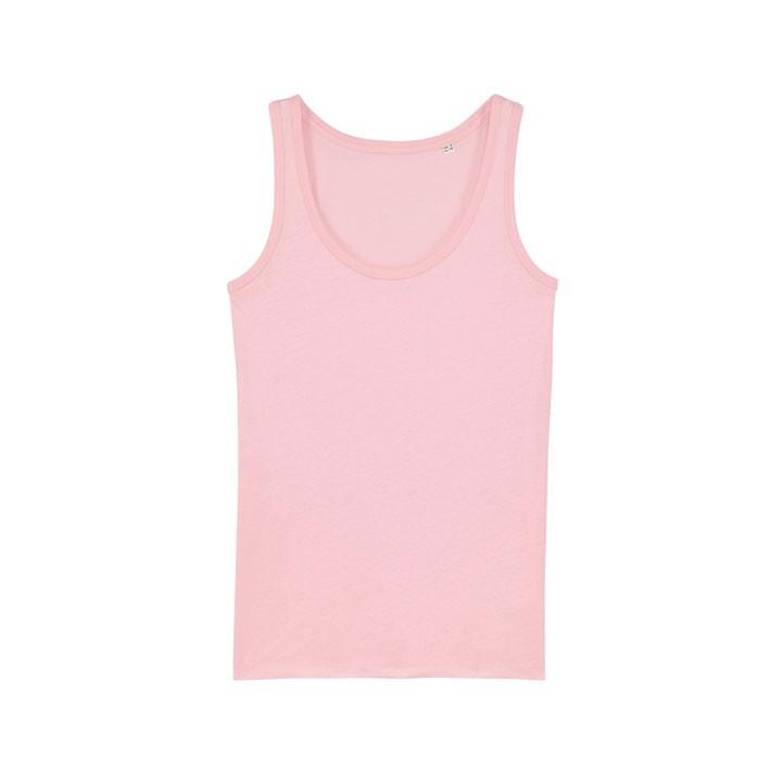 Monk Logo Dames Hemd Cotton Pink - Monkshop