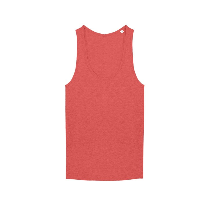 Monk Logo Dames Hemd Mid Heather Red - Monkshop