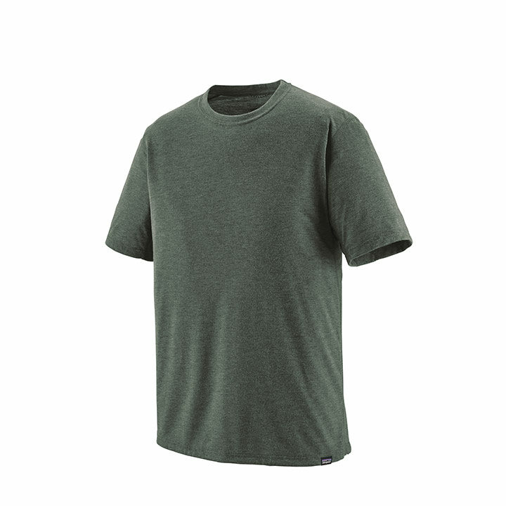 Patagonia Capilene Cool Trail Heren T-shirt Carbon - Monkshop