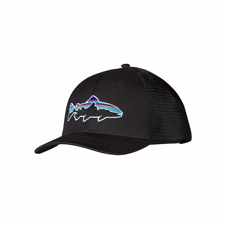 Patagonia Fitz Roy Trout Trucker Pet Black - Monkshop