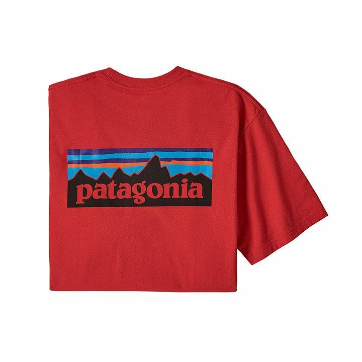 Patagonia P-6 Logo Responsibili-tee T-shirt Fire - Monkshop