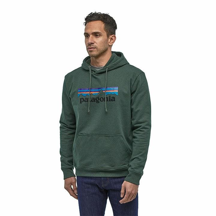 Patagonia P-6 Logo Uprisal Heren Hoody Alder Green - Monkshop