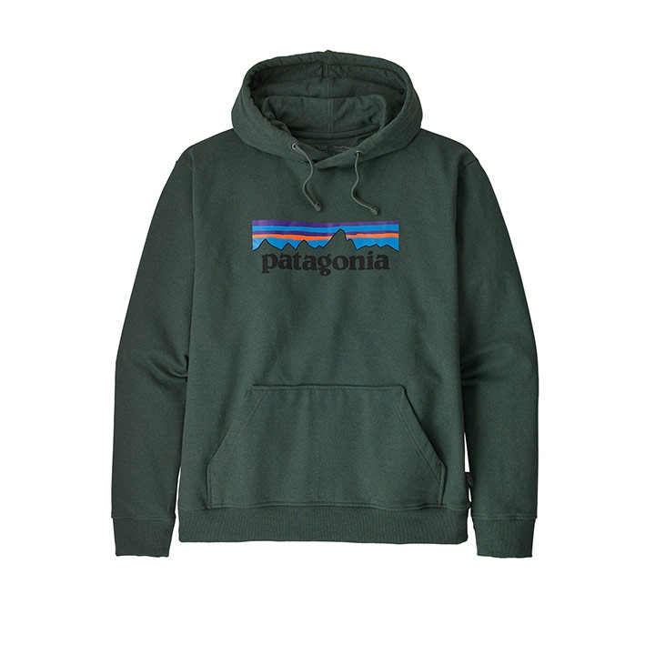 Patagonia P-6 Logo Uprisal Heren Hoody Alder Green - Monkshop