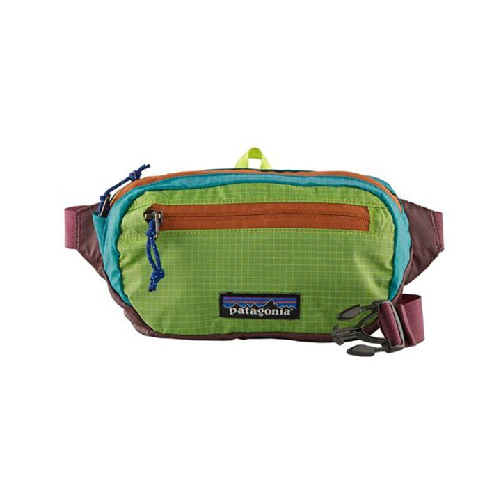 Patagonia Ultralight Black Hole Mini Heuptas Patchwork Peppergrass Green - Monkshop