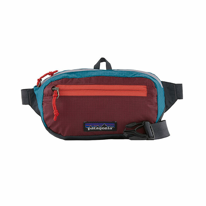 Patagonia Ultralight Black Hole Mini Heuptas Patchwork Roamer Red - Monkshop