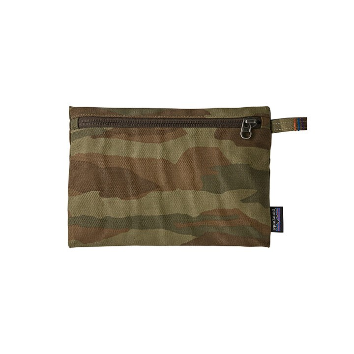 Patagonia Zippered Opbergtas Bear Witness Camo HZ: Sage Khaki - Monkshop