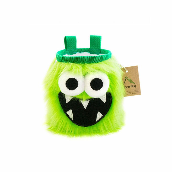 Crafty Climbing Five Toothed Monster Pofzak Green - Monkshop
