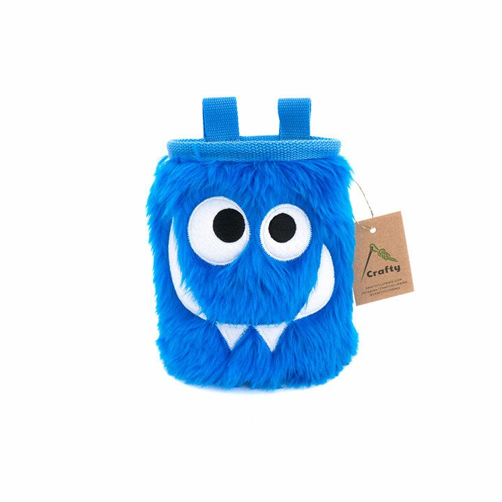 Crafty Climbing Foodie Monster Pofzak Blue - Monkshop