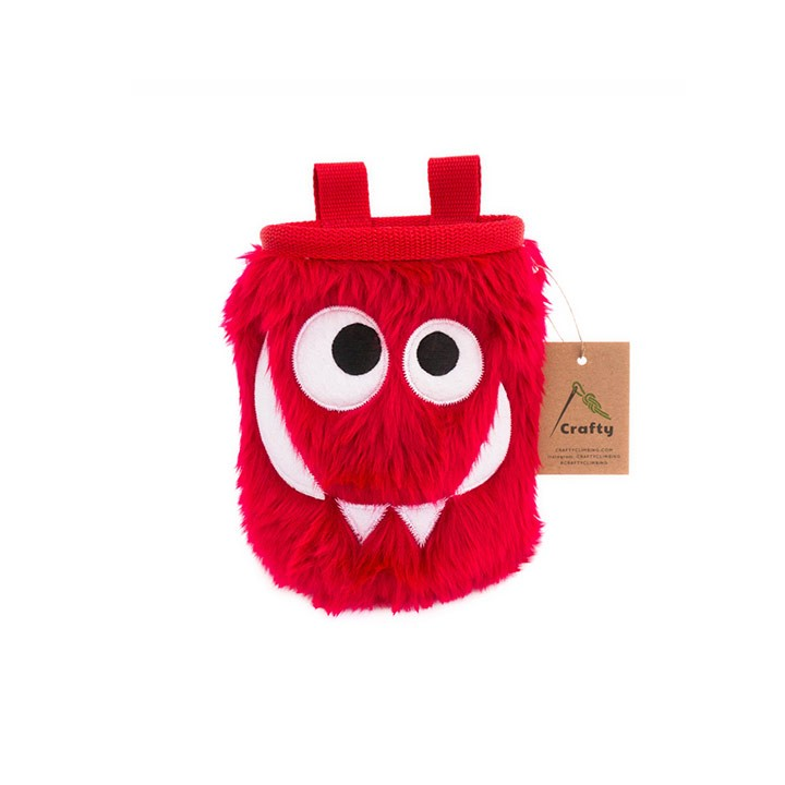Crafty Climbing Foodie Monster Pofzak Cherry - Monkshop