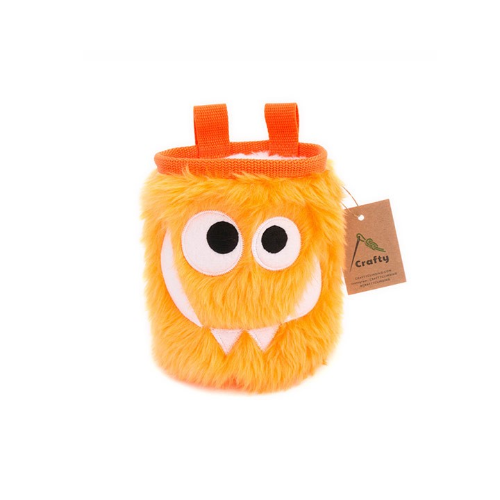 Crafty Climbing Foodie Monster Pofzak Tangerine - Monkshop