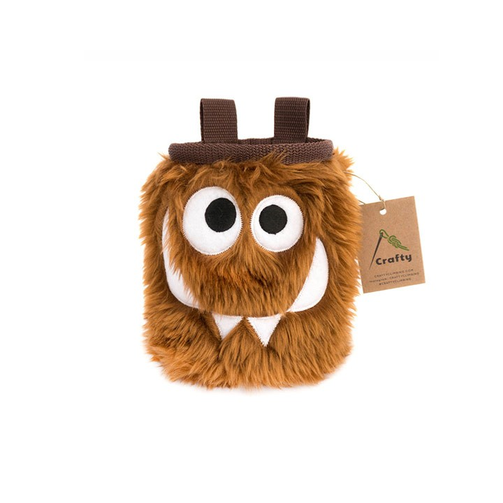 Crafty Climbing Foodie Monster Pofzak Chocolate - Monkshop