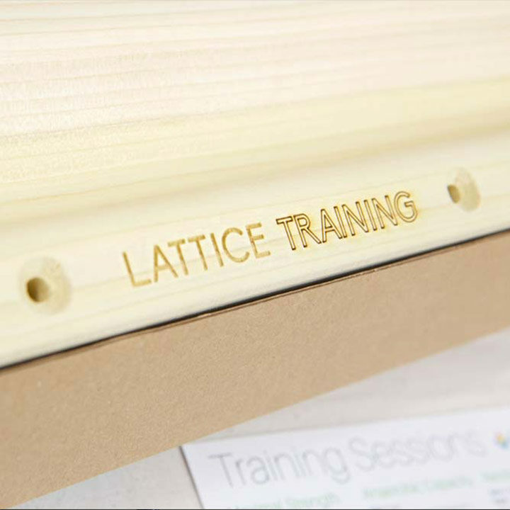 Lattice Testing & Training Rung - Monkshop