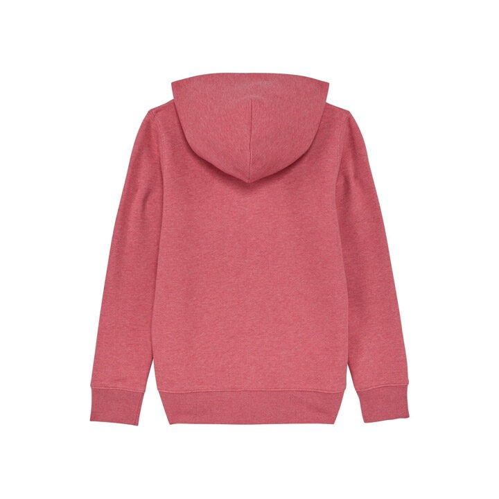 Monk Logo Kinder Hoody Cranberry - Monkshop