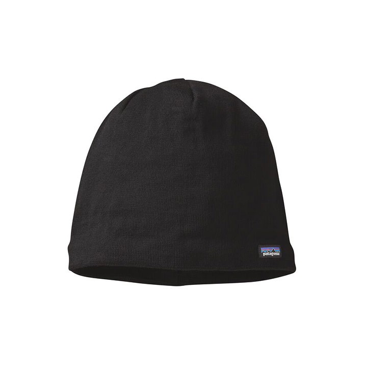 Patagonia Beanie Hat Black - Monkshop