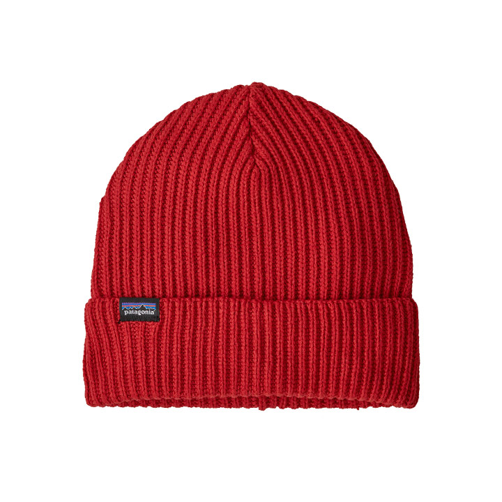 Patagonia Fisherman's Rolled Beanie Hot Ember - Monkshop