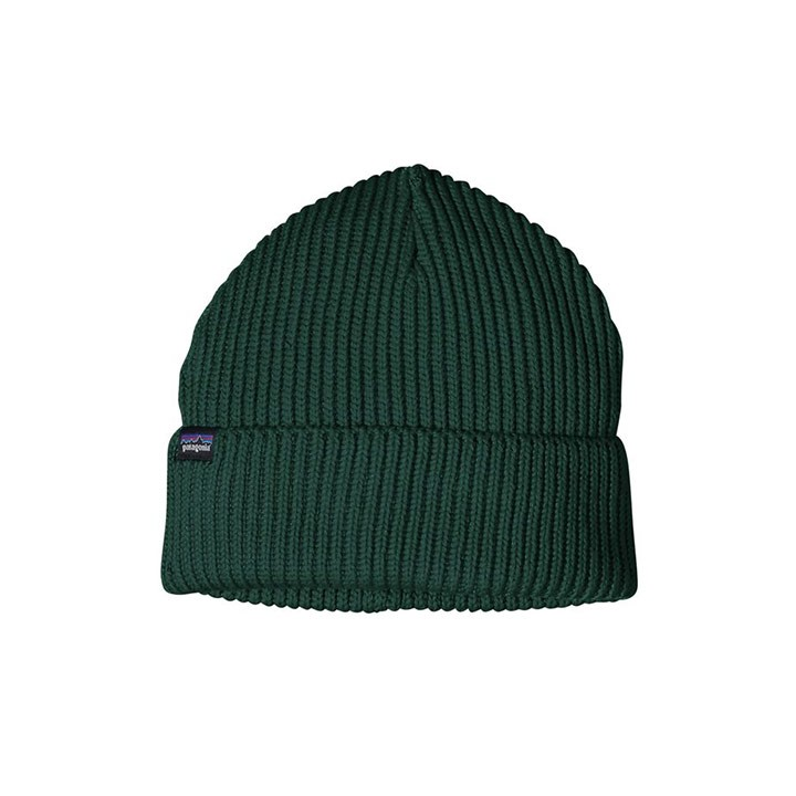 Patagonia Fisherman's Rolled Beanie Piki Green - Monkshop