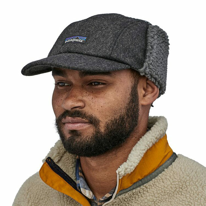 Patagonia Recycled Wool Ear Flap Cap - Monkshop